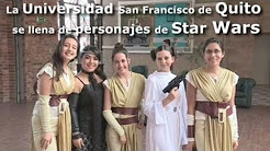 La Universidad San Francisco de Quito se llena de personajes de Star Wars